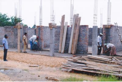 Neubau der Schule 1